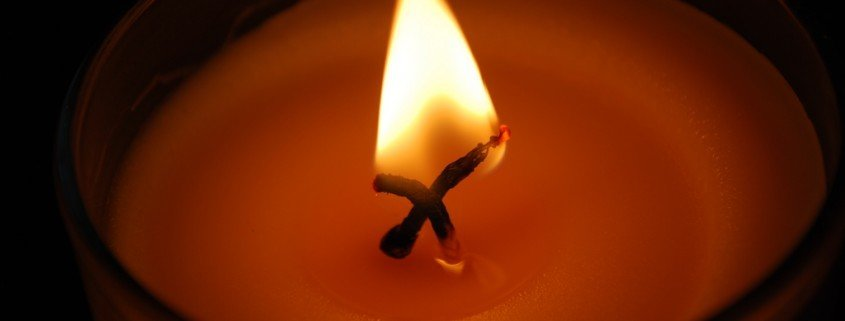Kerze für Paris